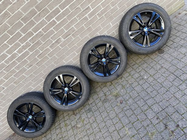 """17"""" oryginalne Koła zimowe do BMW X1 F48 z oponami funflat bridgestone"""