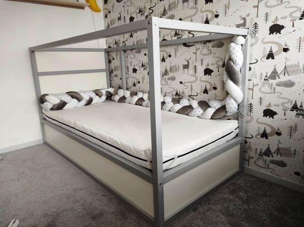 Na sprzedaż łóżko IKEA KURA z materacem dziecięcym w komplecie