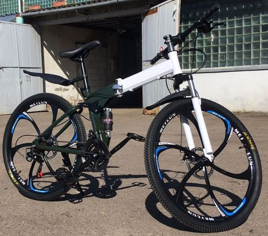 Складной горный велосипед на литых дисках 26 дюймов