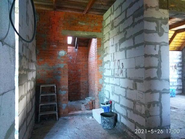 Будівництво, стіни, бетон, покрівля