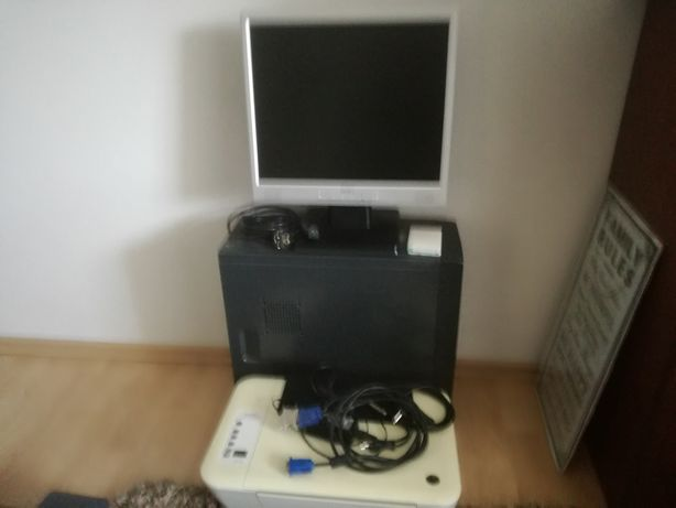 komputer do gier,monitor plus drukarka