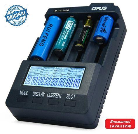 Гарантия! Универсальное зарядное устройство Opus BT-C3100 v2.2 С3100