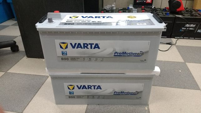 Akumulator Varta EFB B90 12V 190Ah 1050A Start Stop Tir Kraków Azory