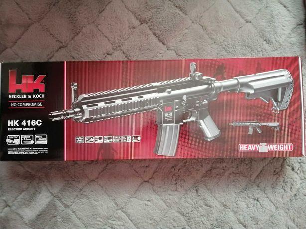 Karabin Elektryczny ASG Heckler & Koch HK416 CQB 6mm AEG