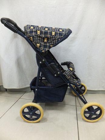 Wózek dla lalek retro składany lata 80 używany