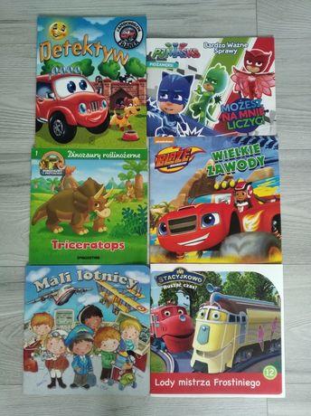 Książeczki dla chłopca- wysyłka 1 zł