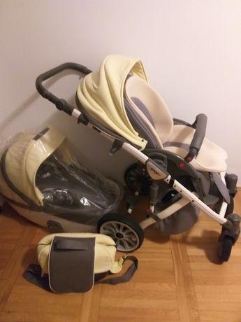 wózek dziecięcy  Adamex cały zestaw