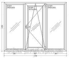 Металопластикові вікна та двері, балконні блоки, лоджії