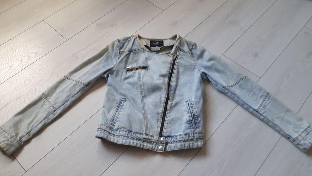 Kurtka jeans, ramoneska Leszno - image 1