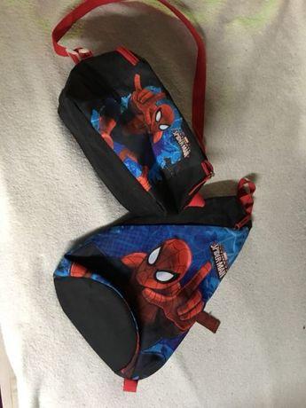 Spiderman plecak+kosmetyczka j.nowe