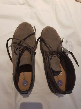 Ботинки кожаные geox