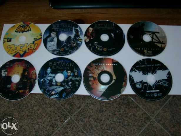 Batman 8 Filmes Dvd