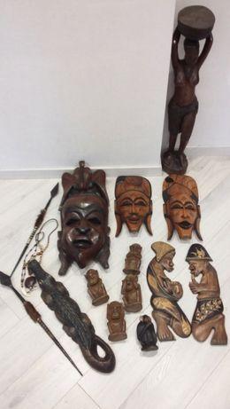 Продам коллекцию африканских фигурок и масок для интерьера или подарка