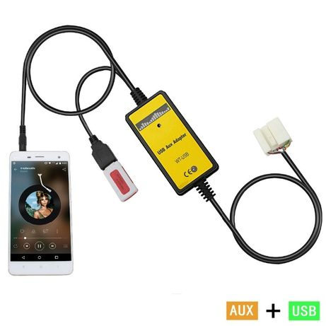 USB AUX адаптер Honda Acura MP3 юсб адаптер Хонда (аналог Yatour)