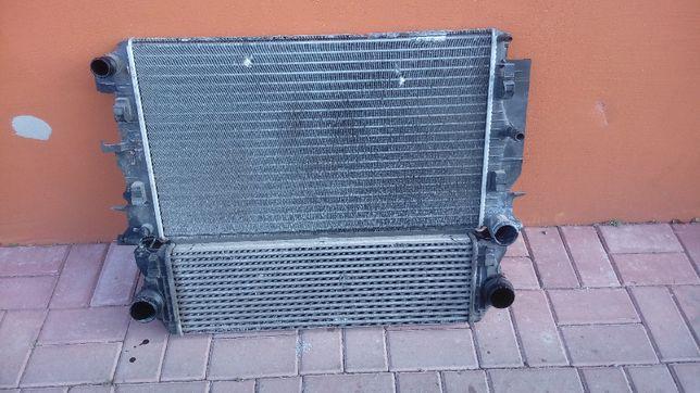 Chłodnica Wody + Intercooler Mercedes Sprinter 906 2.2 cdi 646 KPL