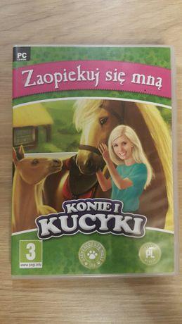 Konie i kucyki - Zaopiekuj się mną PC-CD