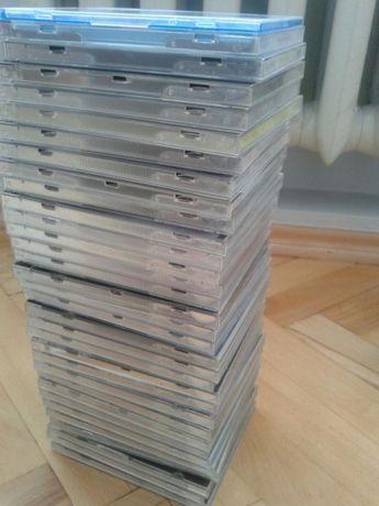 Opakowania płyt CD/DVD + stojaki na płyty