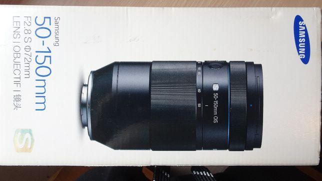 Obiektyw samsung nx 50-150mm f2.8 S