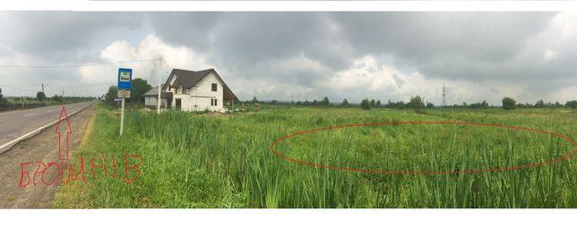 продам земельну ділянку Брошнів-осада ЦІНА ЗА 1 СОТ. !