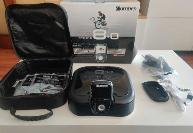 Compex Wireless SP 8.0 - Eletroestimulador Muscular