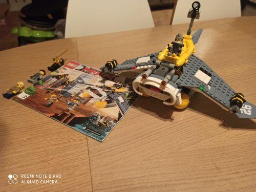 Lego Ninjago 70609 Bombowiec Manta Ray