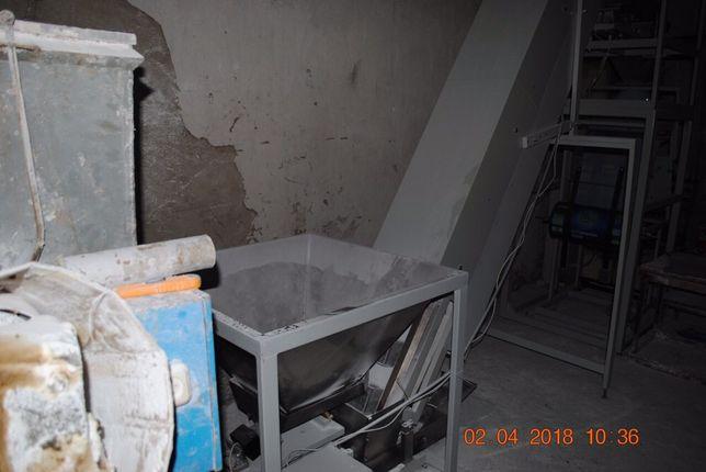 Фасовочная установка полуавтомат транспортер бункер