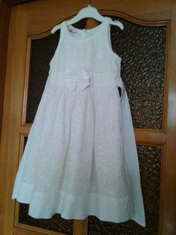 Платье 5-7 батисовое