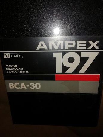 cassetes U-Matic e Betacam