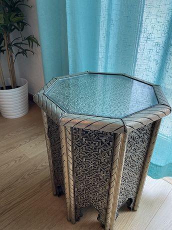2 mesas marroquinas