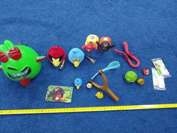 Zestaw zabawek Angry Birds, Maskotki na palce, Jeździ Gra Świeci