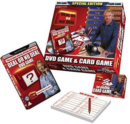 Настольная игра Deal or ? no deal - dvd game &card game