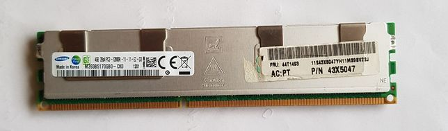 Ram pamięć SAMSUNG 4GB DDR3 do serwera