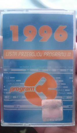Kaseta lista przebojów trójki 1996 ,pop ,rock Bdb