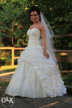 MEGA PROMOCJA! Cudna suknia ślubna rozm 34-36