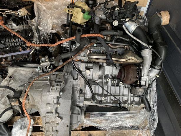 VW T5 двигатель и Кпп 2.5 AXD Фольксваген Транспортёр Т5 комплектный