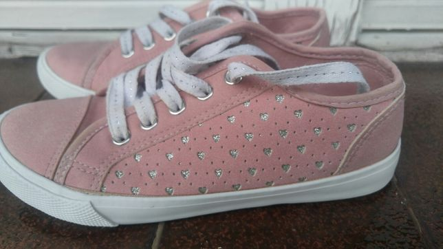 Buty Tenisówki różowe r.32 F&F