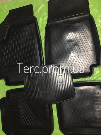 Резиновые коврики ВАЗ 2121 (4 шт.) Автомобильные коврики Нива