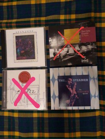 CD jazz 7e cada, Stan Getz (saxofone)