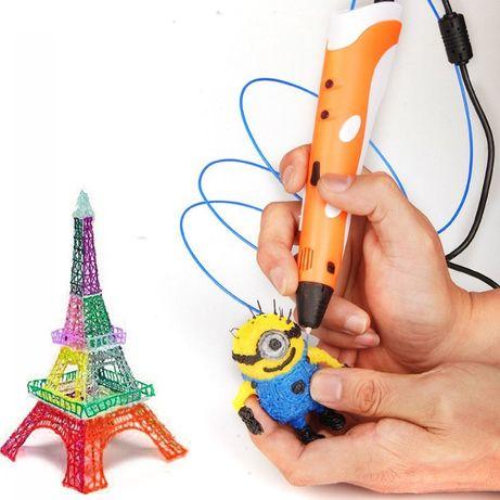 (і)Акция! 3d ручка pen2 + пластик! На подарок, hotweels Lego