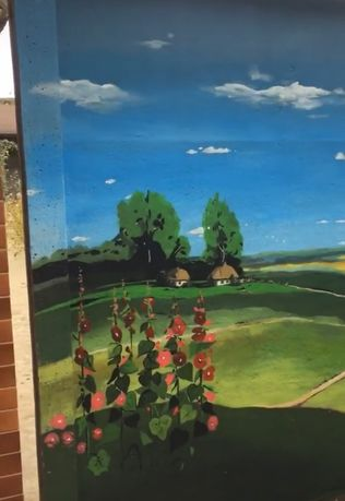 Роспись стен, художник, рисунок на стене, нарисовать на стене