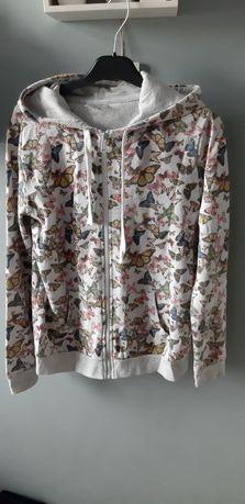 Bluza w motylki r 38