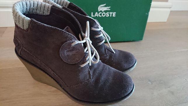 Buty skórzane marki Lacoste JAK NOWE