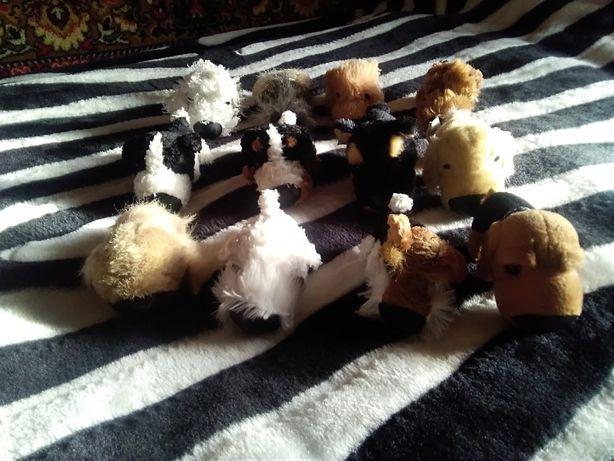 The dog собачка мягкая коллекционная