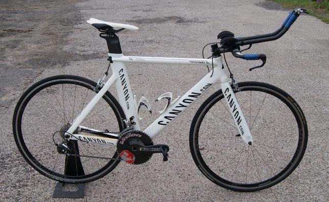 Rower czasowy triathlon CANYON SpeedMax 55cm DURA-ACE ULTEGRA VISION