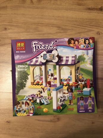 """Конструктор Bela """"Friends"""" 10558 Детский сад для щенков"""