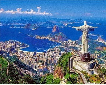 Namaluj obraz sam - Rio de Janeiro do malowania po numerach