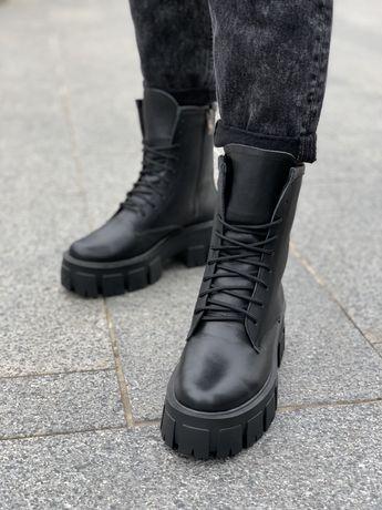 Мартинсы женские ботинки, женские берцы