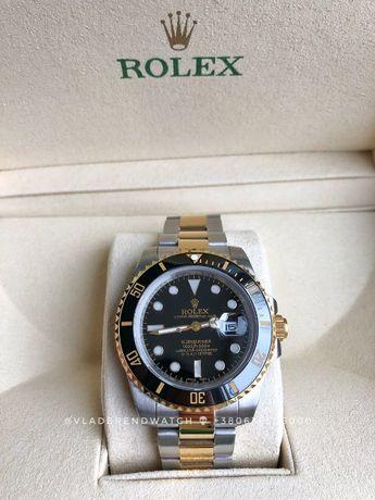 Продам Rolex Submariner Date Black Face Black Bezel Steel & Gold