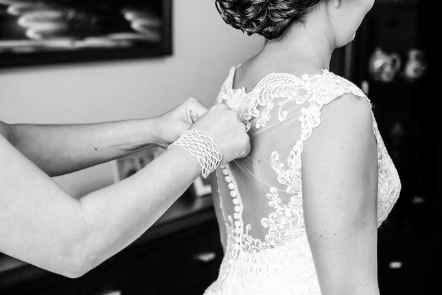 Suknia ślubna-ladna