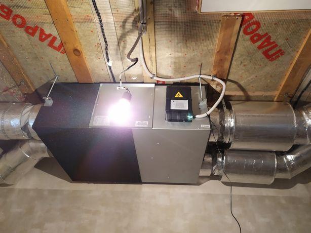 Проектирование и монтаж систем вентиляции и кондиционирования.